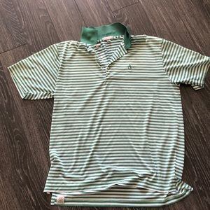 😎 PETER MILLAR GOLF SHIRT SZ L 😎